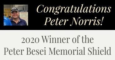 2020 Peter Besei Memorial Shield Winner!
