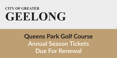 2021 Green Fee Season Tickets Due
