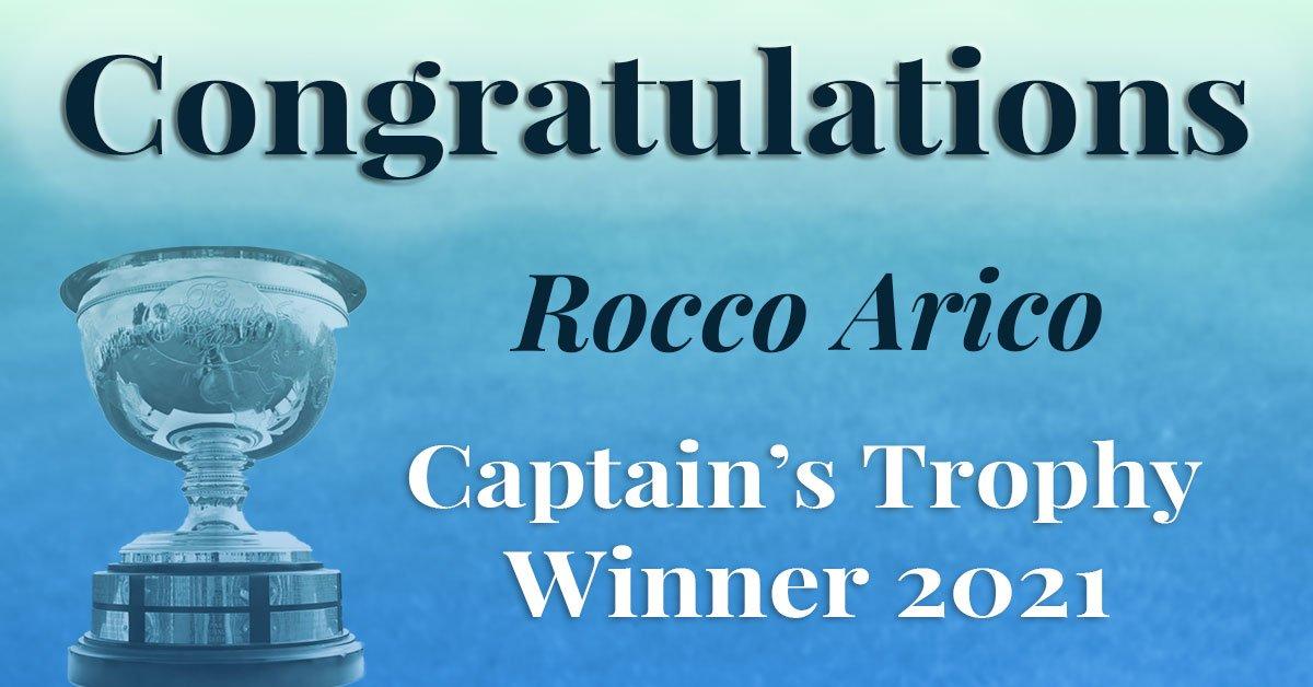Congratulations Rocco Arico!
