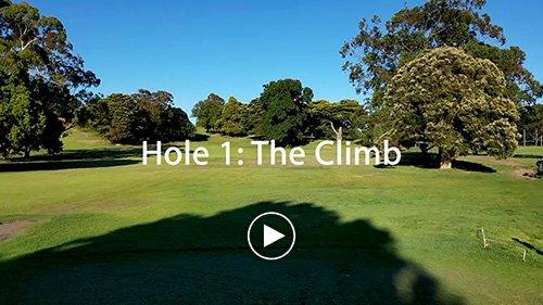 Hole 1 - The Climb