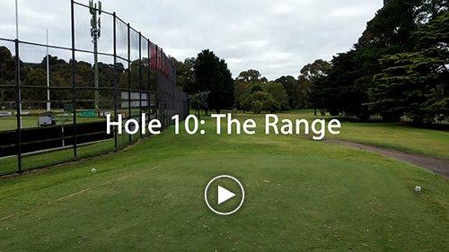 Hole 10 The Range