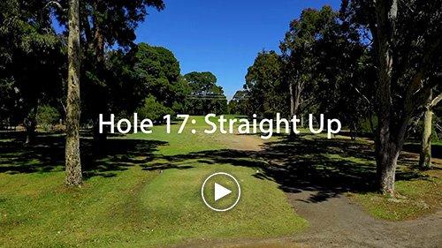Hole 17 Straight Up