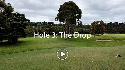 Hole 3 The Drop