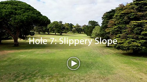 Hole 7 Slippery Slope