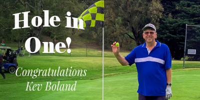 Hole in 1 – Kev Boland