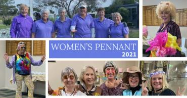 Women's 2021 Pennant Results & Breakup