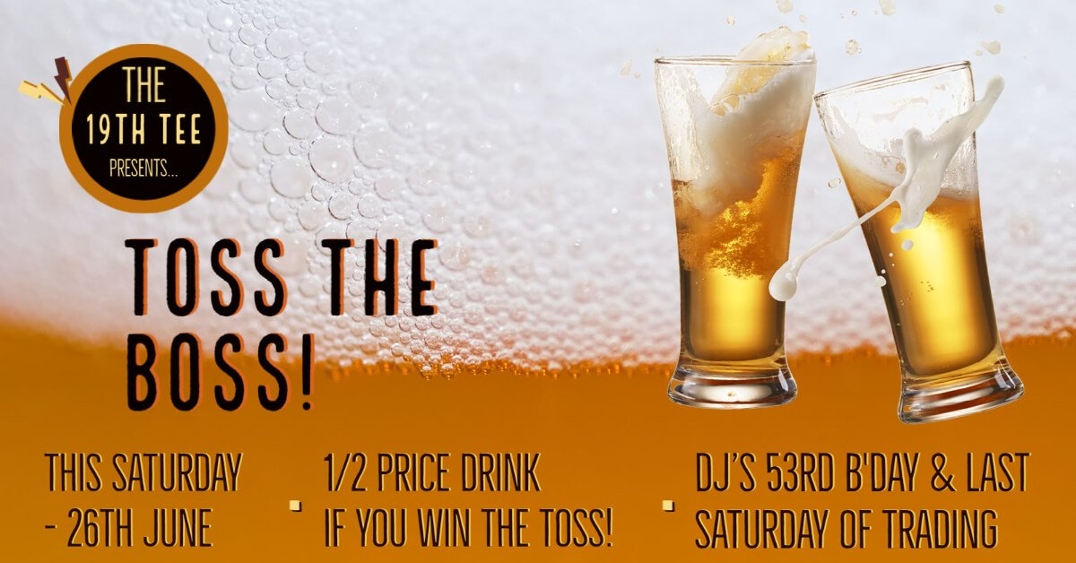 Join DJ & Tammy for a Goodbye Drink!