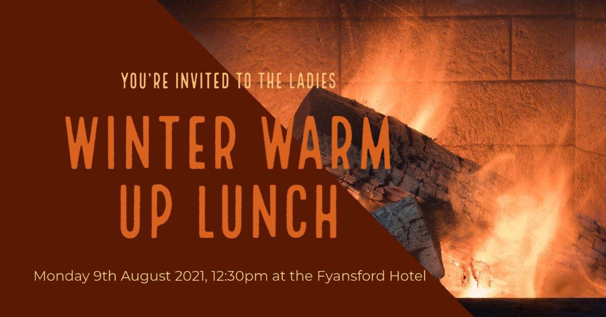 Ladies Winter Warm Up Lunch