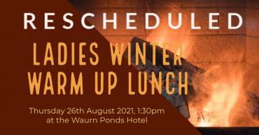 Ladies Winter Warm Up Rescheduled